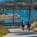 The section between Frisco and Dillon is the most popular.- Dillon Reservoir Recpath