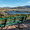 Great place to watch the sunset.- Old Dillon Reservoir
