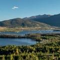 Dillon Lake supplies drinking water to Denver metro.- Old Dillon Reservoir