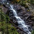 Waterfall on Nolan Creek.- Nolan Lake