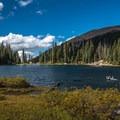 Nolan Lake.- Nolan Lake