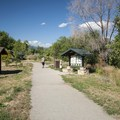 Day use and parking area at Walden Ponds Wildlife Habitat.- Walden Ponds Wildlife Habitat