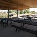 Picnic shelter at Walden Ponds Wildlife Habitat.- Walden Ponds Wildlife Habitat