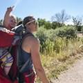 Hiking at Walden Ponds Wildlife Habitat.- Walden Ponds Wildlife Habitat