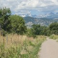 View of Colorado's Front Range from Walden Ponds Wildlife Habitat.- Walden Ponds Wildlife Habitat
