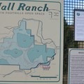 Information sign at the Hall Ranch Parking Lot.- Hall Ranch: Nighthawk Trail