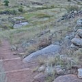 Trail quality is good, with structured steps where needed to prevent erosion.- Hall Ranch: Nighthawk Trail