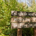 Entrance to the North Loop.- Cal-Cheak Recreation Site + Campground