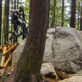 All the technical features have ride arounds.- Mount Fromme Trails: 7th Secret, Crinkum/Crankum + Kirkford