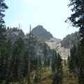 Blue Crag from Sky Meadow.- Emerald Lake + Sky Meadow Hike