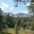 Gorgeous views from Emerald Lake.- Emerald Lake + Sky Meadow Hike