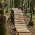 You get a choice to ride around on this one.- Mount Fromme Mountain Bike Trails: Upper Oilcan, Oilcan + Digger