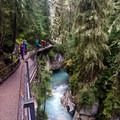 Johnston Canyon is one of the most popular trails in Banff National Park.- Johnston Canyon Upper Falls Hike