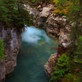 Johston Canyon, Banff National Park.- Johnston Canyon Upper Falls Hike