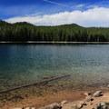 More beach access along Lucky Lake.- Lucky Lake Hike