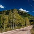 Brush Creek Road.- Sylvan Lake State Park