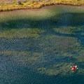 Upper end of Sylvan Lake.- Sylvan Lake State Park