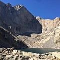 Chasm Lake.- Chasm Lake Hike