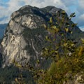 The Chief as seen from the highway.- Stawamus Chief Summit Trail Hike