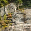 The campground is most often used by rock climbers.- Stawamus Chief Provincial Park + Campground