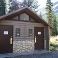 Restrooms in the campground (open from May to September).- South Mineral Campground