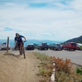 Trailhead at Guardsman Pass.- Wasatch Crest Mountain Bike Trail