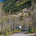 Another view of the loop road.- Difficult Campground