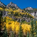 Once it climbs above the aspen groves, the trail reveals magnificent views all around.- Crater Lake + Maroon Lake Hike via the Maroon-Snowmass Trail