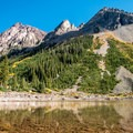 Crater Lake in Colorado's Maroon Bells-Snowmass Wilderness. - Crater Lake + Maroon Lake Hike via the Maroon-Snowmass Trail
