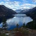 Looking back to Stehekin.- Purple Pass Hiking Loop