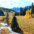 Many small river/water crossings on the trail.- Lower Marvine Lake Trail