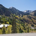 Once an old silver mining outpost, Alta is now a quaint ski resort town.- Scenic Highway 210