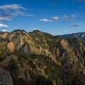 Looking east from the summit toward Wildcat Ridge.- Mount Olympus via Wasatch Boulevard Trailhead