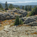 Canyons and plateaus at the First Peak.- Mount Seymour Summit Hike