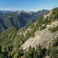 Third Peak From Second Peak.- Mount Seymour Summit Hike