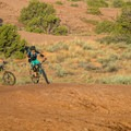 Sand Flats is famous for mountain biking, but this is only one of many ways to explore the area.- Sand Flats Recreation Area