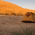 Slickrock sunrise.- Sand Flats Recreation Area