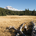 South Sister (10,358 ft) from Linton Meadow.- Eileen Lake + The Husband Lake Hike