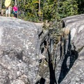 The ice caves sometimes have ice in them into the summer- The Grottos Hiking Trails