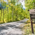Campground entrance.- Weller Campground
