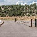 Dump station.- Rifle Gap Campground