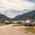 Lakeview loop road.- Rifle Gap Campground