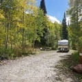 Campsite at the Gore Creek Campground. - Gore Creek Campground