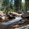 Gore Creek. - Gore Creek Campground
