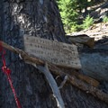 The trail is well marked through the junctions.- Sawtooth Mountain + Indigo Lake Hike