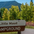 Little Maud is the first loop on the campground road.- Mollie B + Little Maud Campgrounds
