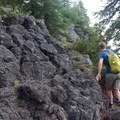 There's a bit of scrambling to get to the viewpoints.- Middle Pyramid Hike