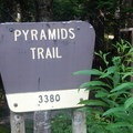 The Pyramids Trailhead.- Middle Pyramid Hike