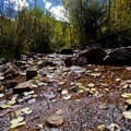 Small stream crossing. - Gore Lake Hike via the Gore Creek Trail