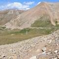 Base of the trail via Iowa Gulch.- Mount Sherman Hike via Iowa Gulch